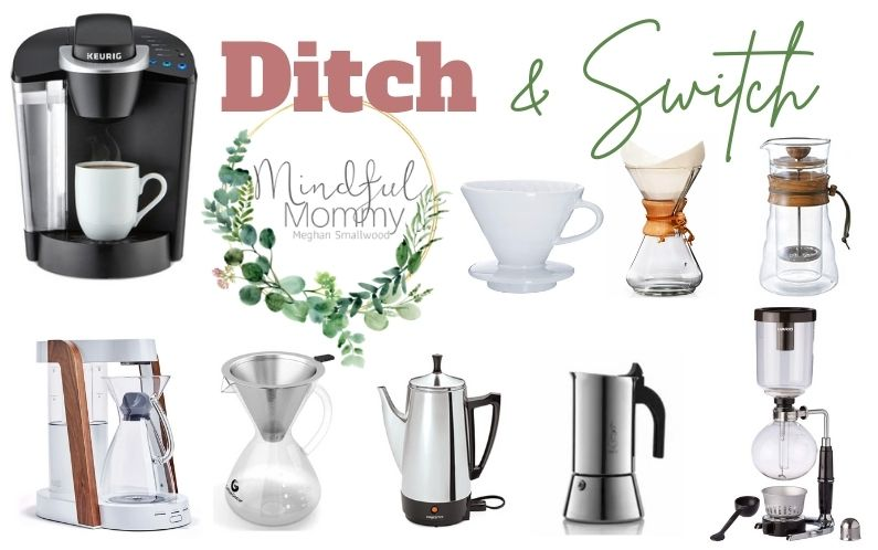 Steps to detox your home: Plastic free coffee makers