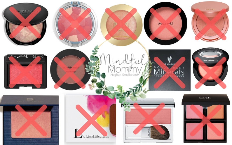 Toxins in your blush